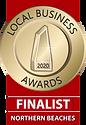 2020 Local Business Awards Finalist tran
