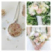 As promised, more wedding bouquet keepsa