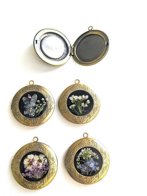 Pressed Flower Lockets