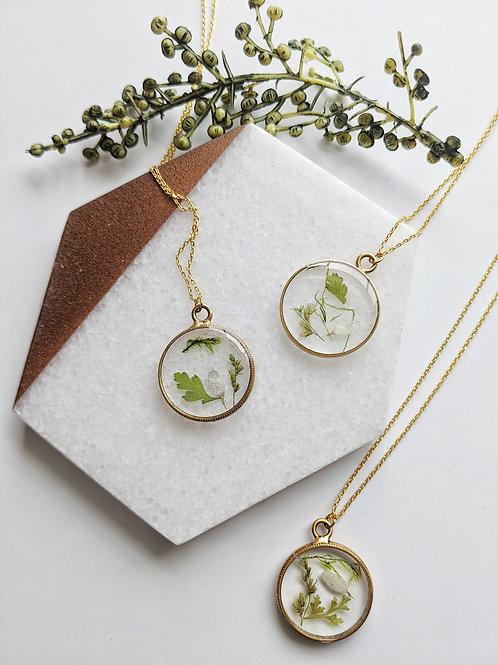 Terrarium Wreath Necklace