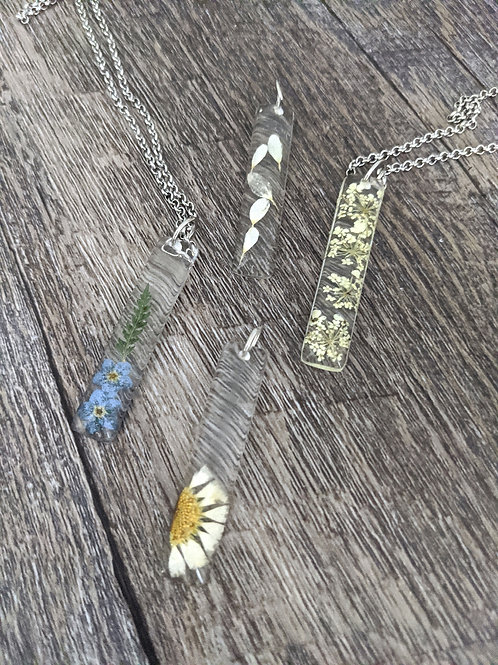 Botanical Bar Necklaces