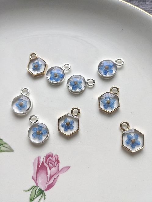 Forget-Me-Not & Mustard Seed Necklace