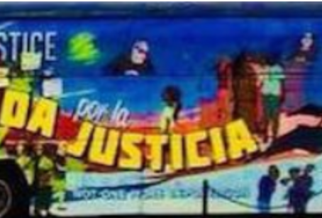 """Miami Community LeadersWelcome the """"Journey for Justice"""" National TPS Tour Bus"""