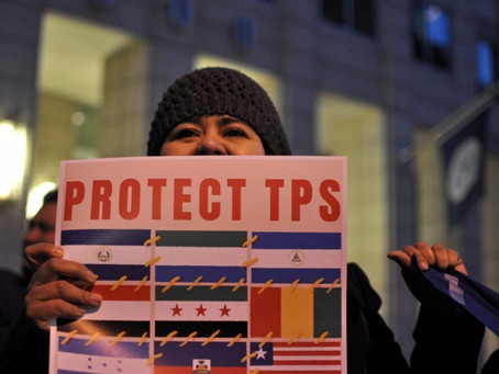 DHS Extends TPS Documentation for Haiti, Honduras, El Salvador, Sudan, Nicaragua and Nepal.