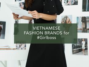 Những thương hiệu thời trang công sở Việt cho nàng #Girlboss