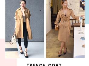 Điệu theo mùa cùng Trench Coat