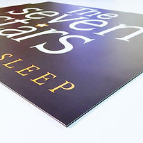 ACM sign printing