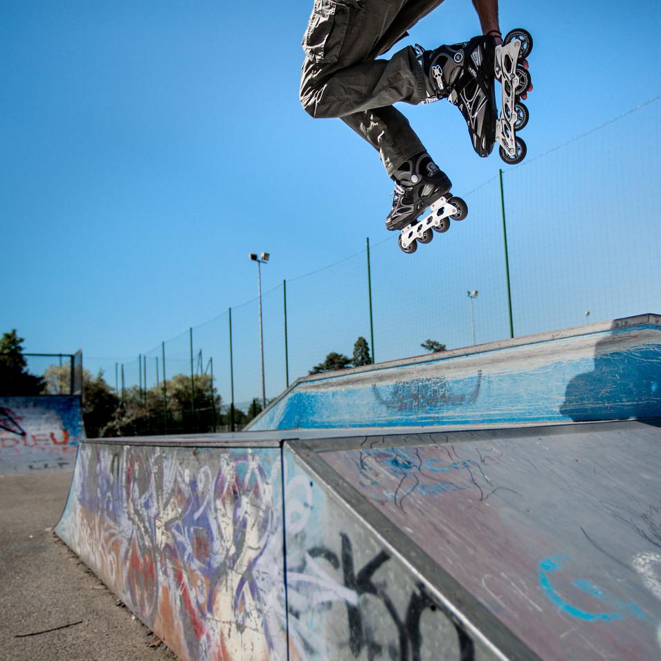 Jump skatepark