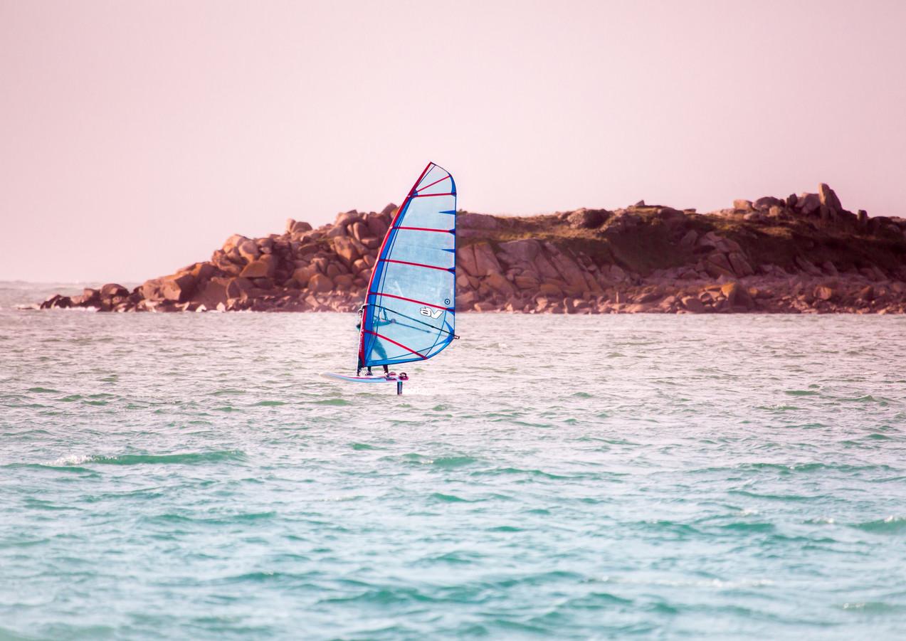 Windsurf en Bretagne