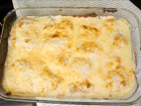 The Easiest Cheesiest Chicken Recipe