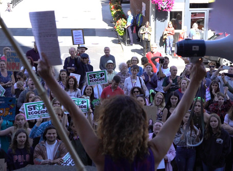 Global Climate Strike: the power of acoustics