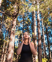 soundscape woman in a forest.jpg