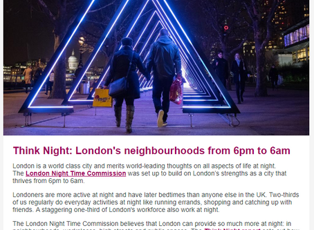 London : Think Night - Sleep Tight  ?
