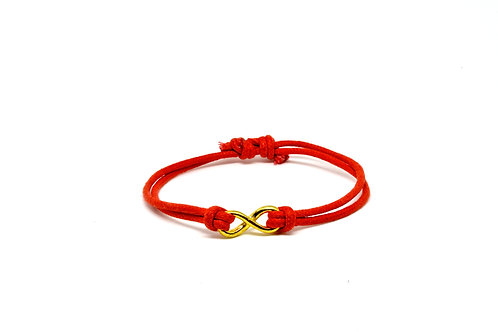 Gold Infinity - Red