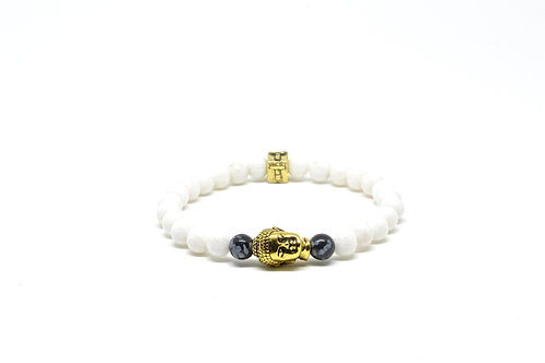 Serenity White - Gold (Small)