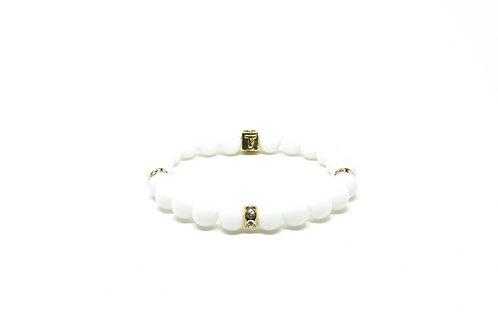 Trinity - Gold (White)