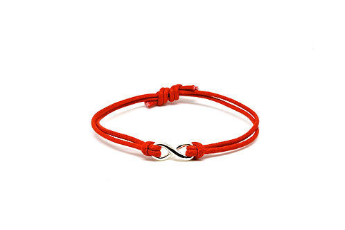 Silver Infinity - Red