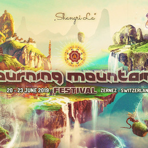 Burning mountain festival