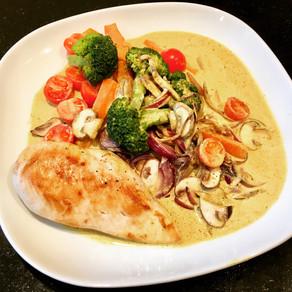 Poulet & Gemüse Curry
