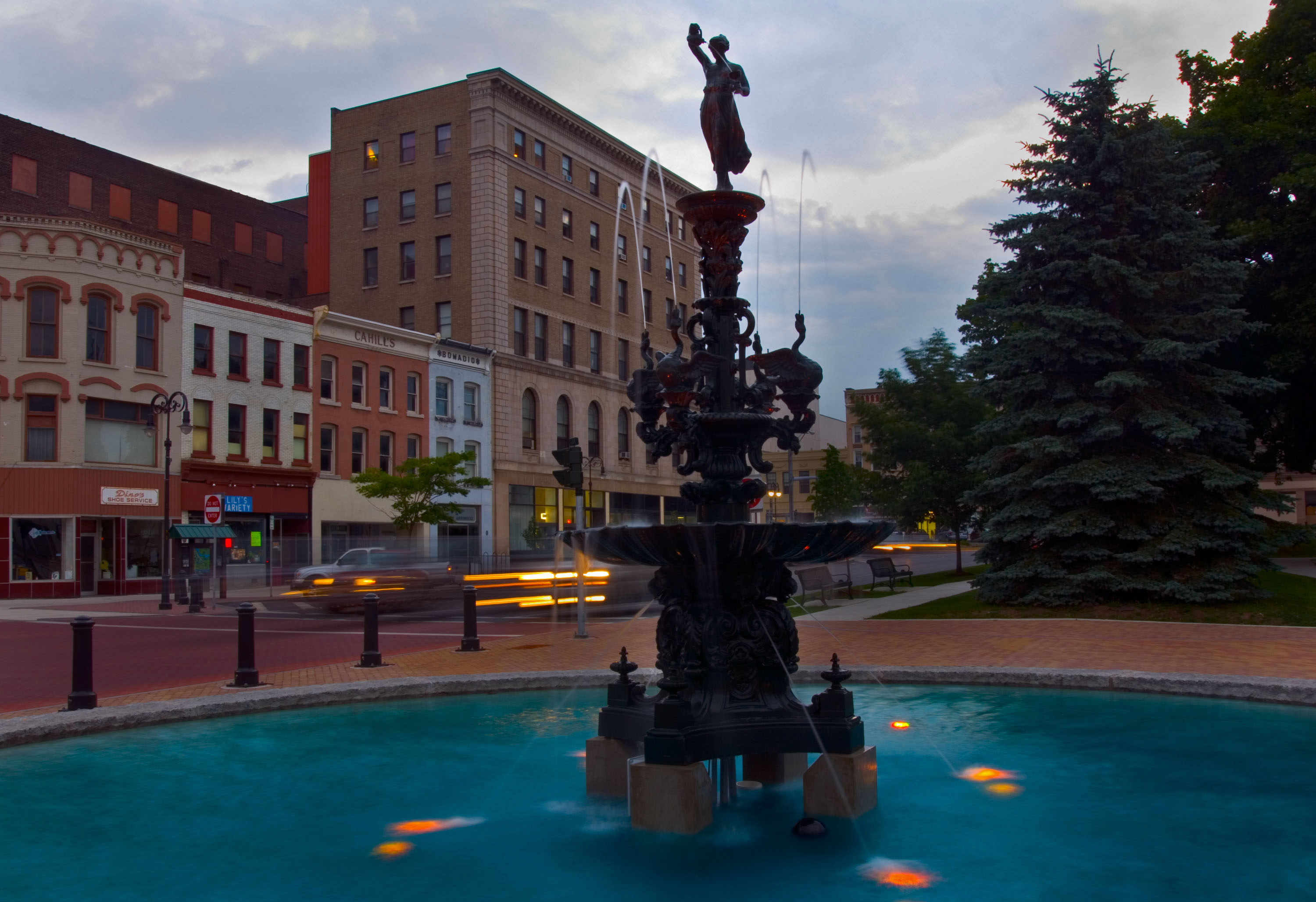 Public Square Fountain