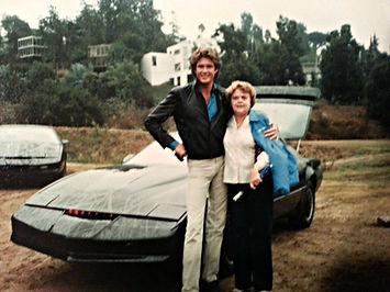 Hasselhoff with Marian Fischer | Black Hills Rally Wedding
