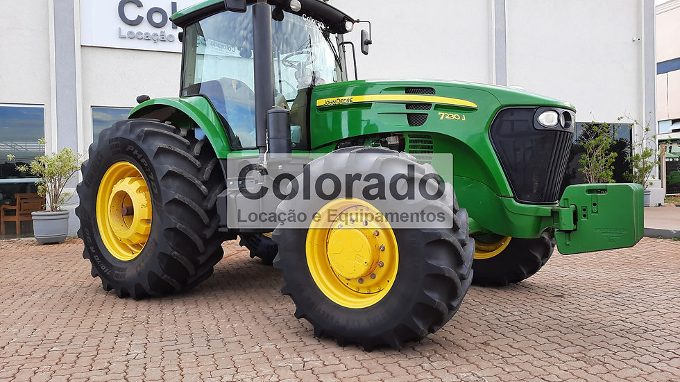 Trator Jd 7230j-Ano 2019-3582 horas