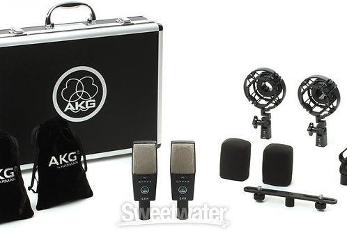 AKG C414XLS/ST Stereo Matched Pair (In Briefcase)