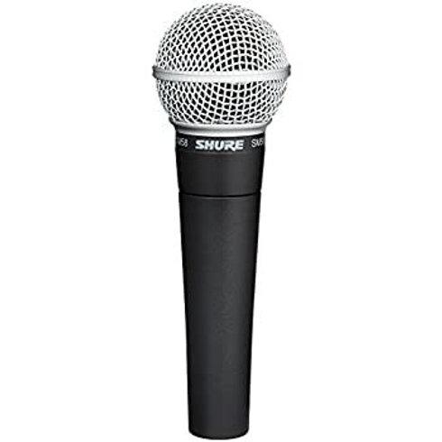Shure SM58 Vocal Mic w/Clip