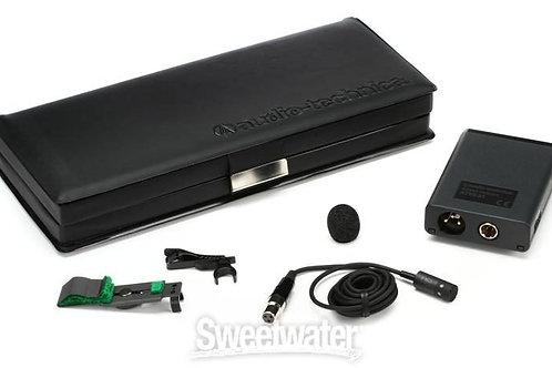 AT 831 Cardiod Lapel Mic, Hardwired w/ bridge clip in box
