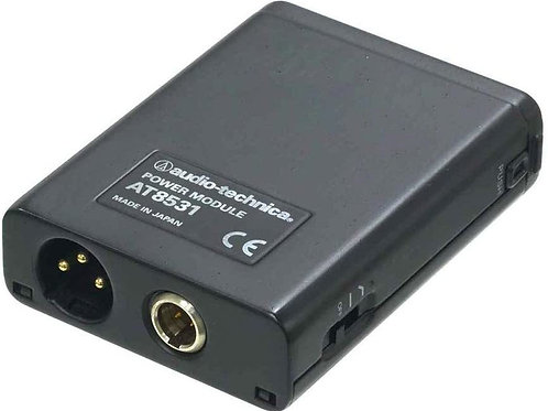 AT Battery Phantom Power Supply for AT-831 wired for Shure