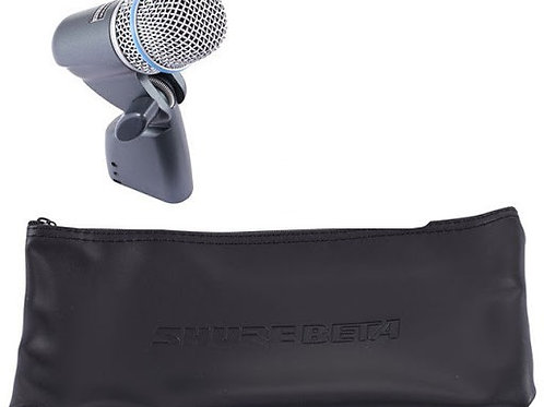 Shure Beta 56A Instrument Mic, in bag