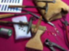 Outils pour Réfection, restauration Tapissier d'ameublement indre et Loire Tours, L' Atelier de Sophie