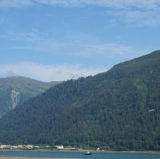View of Juneau from Douglas