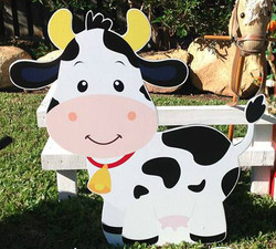 Cropped Cow