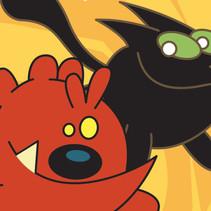 反斗猫和俏皮狗