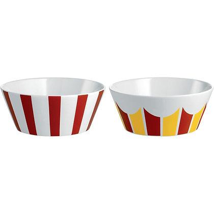Alessi Circus Set of 2 Dessert Bowls