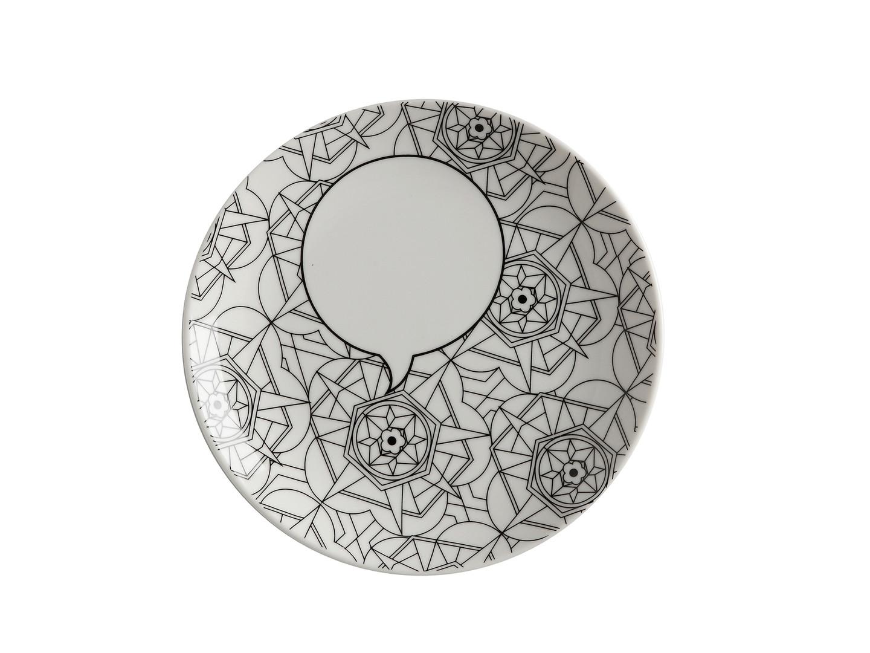 Mindfulness Messages Plate Kaleidoscope 19cm