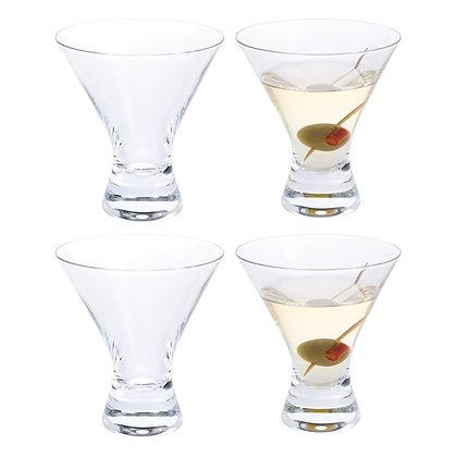 Dartington Home Bar Martini Cocktail (4 pack)