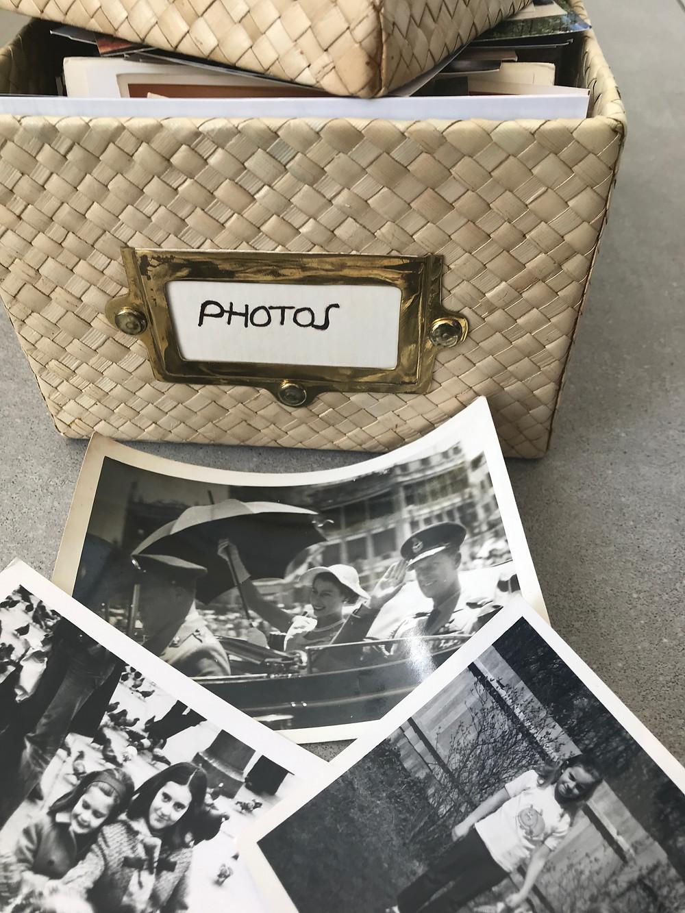 black and white photographs memorabilia
