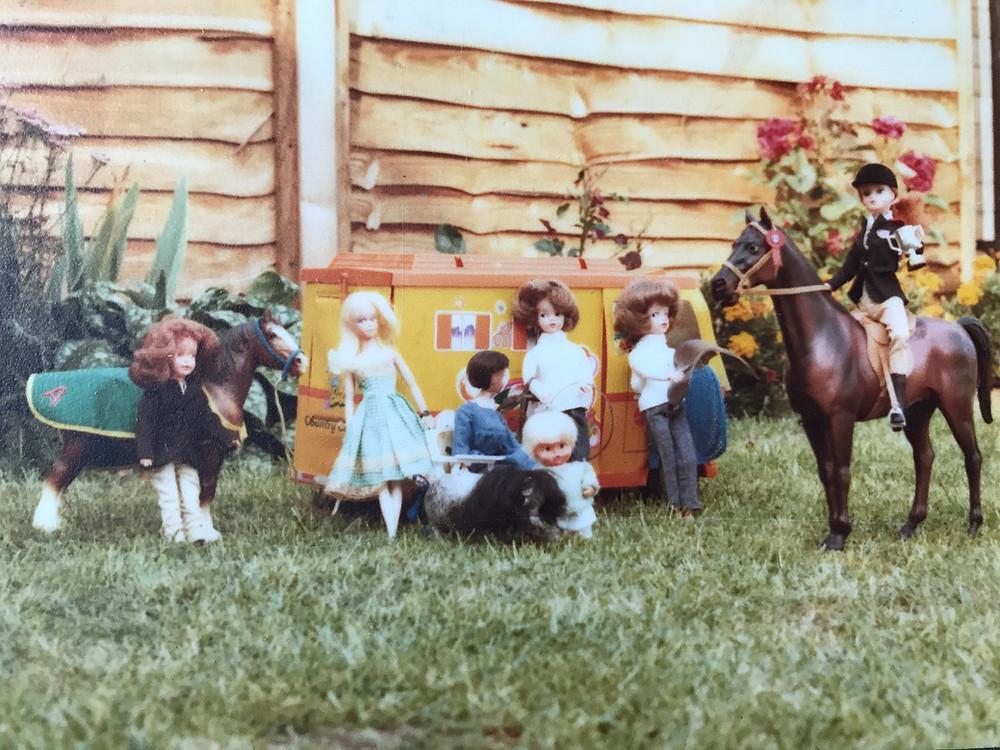 Barbie Sindy Tiny Tears retro toys vintage