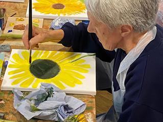 Gorton Visual Arts 'Sunflower Life Studies' Workshop Sessions