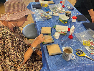Gorton Visual Arts 'Mosaic Coasters' Workshop Sessions