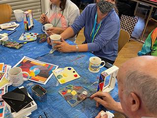 Gorton Visual Arts 'I've been Framed' Workshop Session