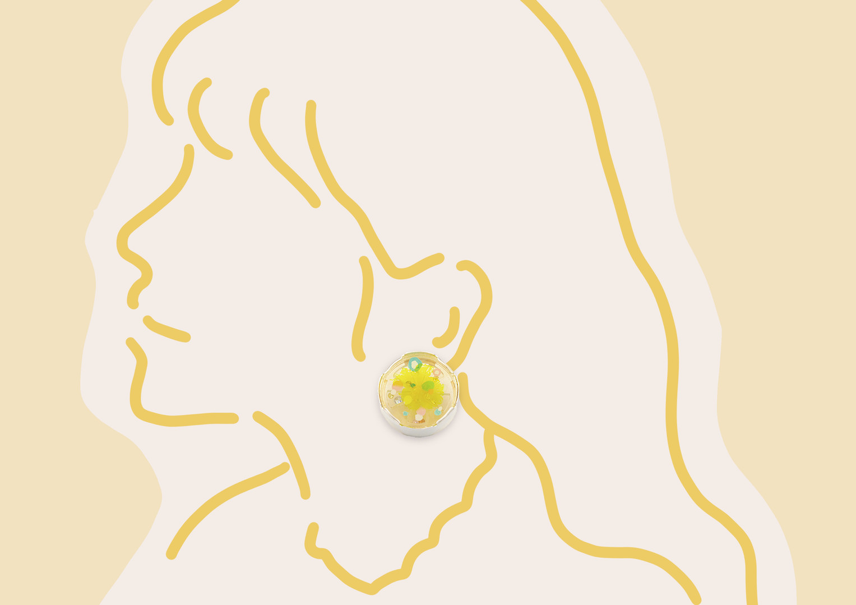 Vibrant Lemon Earring | 2020