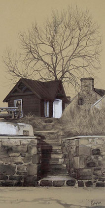 'The Old Ferryman's Hut' Limited Edition Print
