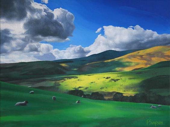'Ingram Valley 2' Limited Edition Print