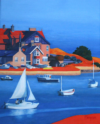 'Alnmouth Estuary' Limited Edition Print
