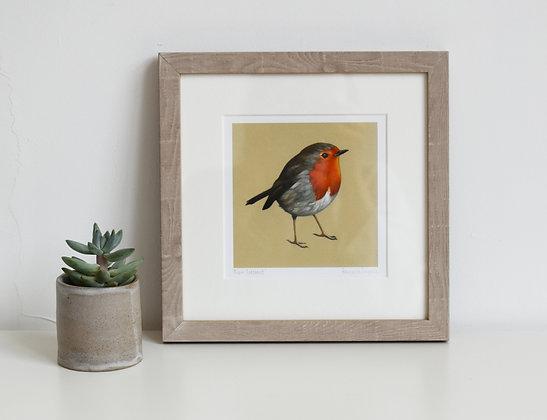 'Robin Redbreast' Print