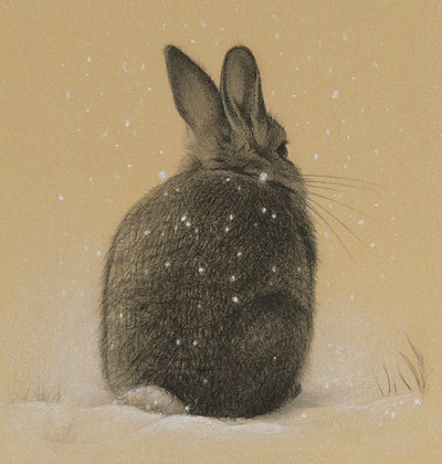 'Snow Bunny' Print