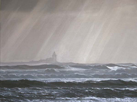 Coquet Island on a Winter's Morning